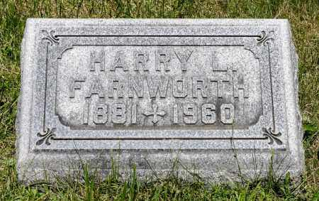 FARNWORTH, HARRY LEVI - Crawford County, Ohio | HARRY LEVI FARNWORTH - Ohio Gravestone Photos
