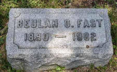 FAST, BEULAH O. - Crawford County, Ohio   BEULAH O. FAST - Ohio Gravestone Photos