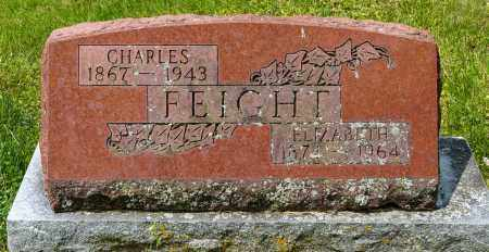 FEIGHT, ELIZABETH - Crawford County, Ohio | ELIZABETH FEIGHT - Ohio Gravestone Photos
