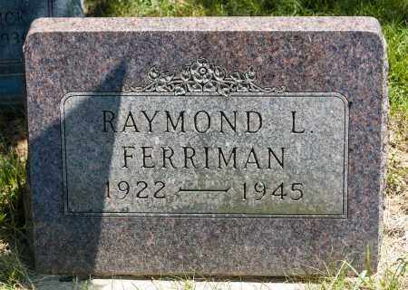 FERRIMAN, RAYMOND L. - Crawford County, Ohio   RAYMOND L. FERRIMAN - Ohio Gravestone Photos