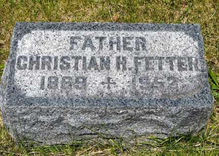 FETTER, CHRISTIAN HERMAN - Crawford County, Ohio | CHRISTIAN HERMAN FETTER - Ohio Gravestone Photos