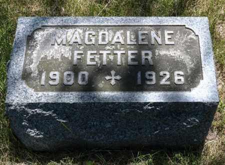 FETTER, MAGDALENE - Crawford County, Ohio | MAGDALENE FETTER - Ohio Gravestone Photos