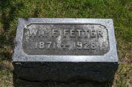 FETTER, WILLIAM F. - Crawford County, Ohio | WILLIAM F. FETTER - Ohio Gravestone Photos