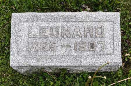 FICKEISEN, LEONARD - Crawford County, Ohio | LEONARD FICKEISEN - Ohio Gravestone Photos