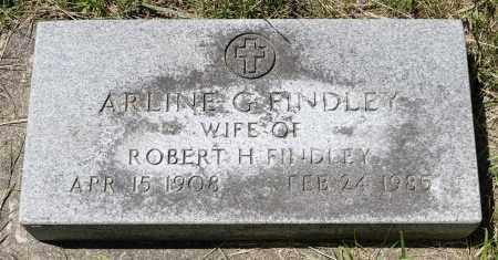 FINDLEY, ARLINE G. - Crawford County, Ohio | ARLINE G. FINDLEY - Ohio Gravestone Photos