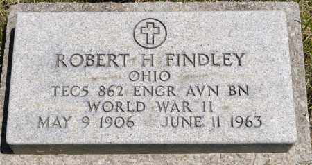 FINDLEY, ROBERT H. - Crawford County, Ohio | ROBERT H. FINDLEY - Ohio Gravestone Photos