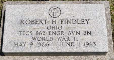 FINDLEY, ROBERT H. - Crawford County, Ohio | ROBERT H. FINDLEY - Ohio Gravestone Photos