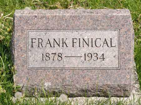 FINICAL, FRANK - Crawford County, Ohio | FRANK FINICAL - Ohio Gravestone Photos