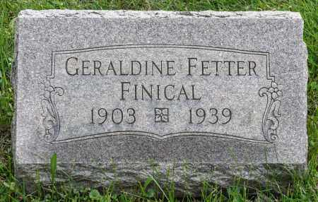 FETTER FINICAL, RUTH GERALDINE - Crawford County, Ohio   RUTH GERALDINE FETTER FINICAL - Ohio Gravestone Photos