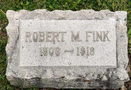 FINK, ROBERT M. - Crawford County, Ohio   ROBERT M. FINK - Ohio Gravestone Photos