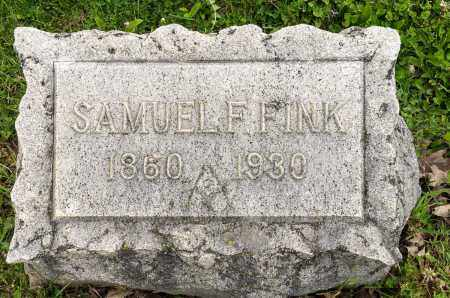 FINK, SAMUEL F. - Crawford County, Ohio | SAMUEL F. FINK - Ohio Gravestone Photos