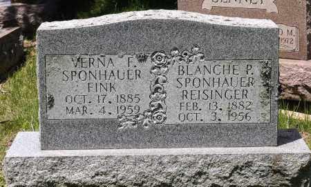 SPONHAUER FINK, VERNA F. - Crawford County, Ohio | VERNA F. SPONHAUER FINK - Ohio Gravestone Photos