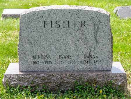 FRANKENBERGER FISHER, HANNA - Crawford County, Ohio | HANNA FRANKENBERGER FISHER - Ohio Gravestone Photos