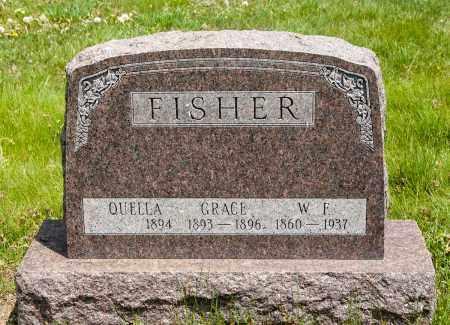 FISHER, QUELLA - Crawford County, Ohio | QUELLA FISHER - Ohio Gravestone Photos