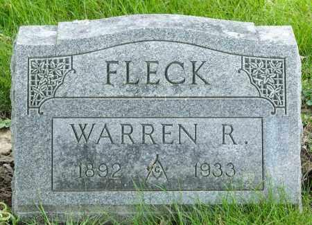 FLECK, WARREN R. - Crawford County, Ohio   WARREN R. FLECK - Ohio Gravestone Photos