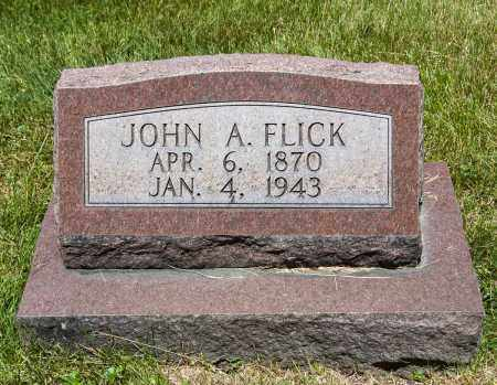 FLICK, JOHN A. - Crawford County, Ohio | JOHN A. FLICK - Ohio Gravestone Photos