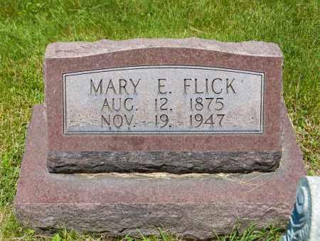 FLICK, MARY EMMA - Crawford County, Ohio | MARY EMMA FLICK - Ohio Gravestone Photos