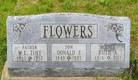CASTLE FLOWERS, RUTH A. - Crawford County, Ohio | RUTH A. CASTLE FLOWERS - Ohio Gravestone Photos