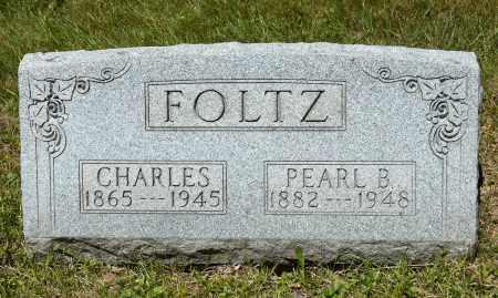 FOLTZ, PEARL B. - Crawford County, Ohio | PEARL B. FOLTZ - Ohio Gravestone Photos