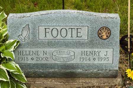 FOOTE, HELENE N. - Crawford County, Ohio | HELENE N. FOOTE - Ohio Gravestone Photos