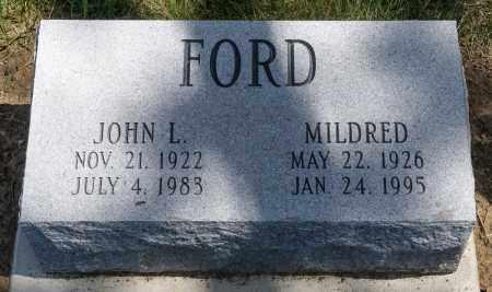 FORD, JOHN L. - Crawford County, Ohio | JOHN L. FORD - Ohio Gravestone Photos