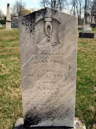 FORSTER, THOMAS - Crawford County, Ohio | THOMAS FORSTER - Ohio Gravestone Photos