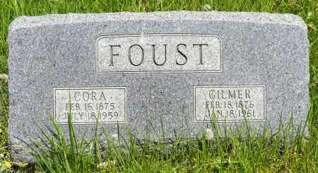 BOOKWALTER FOUST, CORA - Crawford County, Ohio | CORA BOOKWALTER FOUST - Ohio Gravestone Photos