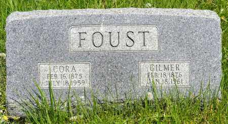 BOOKWALTER FOUST, CORA - Crawford County, Ohio | CORA BOOKWALTER FOUST - Ohio Gravestone Photos