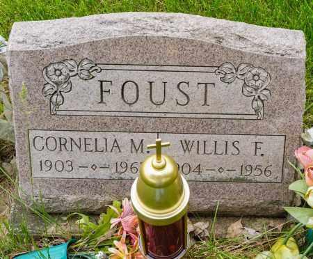 FOUST, WILLIS F. - Crawford County, Ohio   WILLIS F. FOUST - Ohio Gravestone Photos