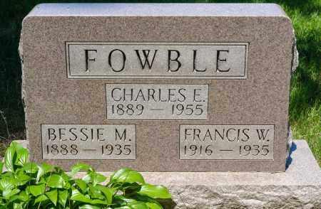 FOWBLE, BESSIE MAE - Crawford County, Ohio | BESSIE MAE FOWBLE - Ohio Gravestone Photos