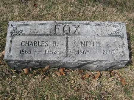 FOX, NELLIE E. - Crawford County, Ohio   NELLIE E. FOX - Ohio Gravestone Photos