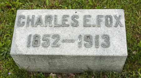 FOX, CHARLES EDWARD - Crawford County, Ohio | CHARLES EDWARD FOX - Ohio Gravestone Photos
