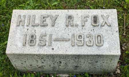 SMITH FOX, HILEY REBECCA - Crawford County, Ohio | HILEY REBECCA SMITH FOX - Ohio Gravestone Photos