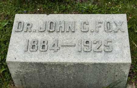 FOX, JOHN C. - Crawford County, Ohio | JOHN C. FOX - Ohio Gravestone Photos