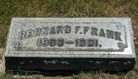 FRANK, BERNARD F. - Crawford County, Ohio | BERNARD F. FRANK - Ohio Gravestone Photos