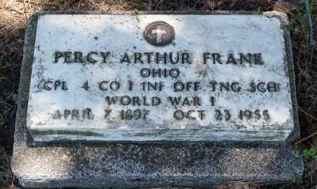 FRANK, PERCY ARTHUR - Crawford County, Ohio | PERCY ARTHUR FRANK - Ohio Gravestone Photos