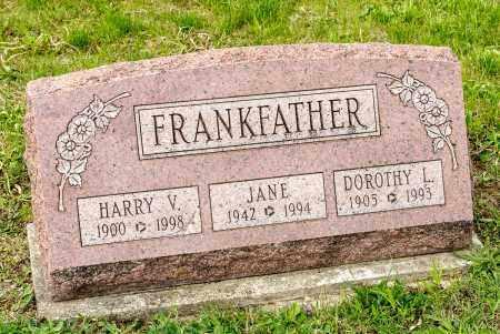 FRANKFATHER, HARRY V. - Crawford County, Ohio   HARRY V. FRANKFATHER - Ohio Gravestone Photos