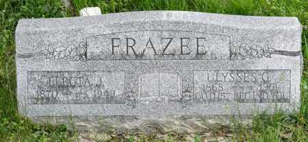 FRAZEE, ULYSSES G. - Crawford County, Ohio | ULYSSES G. FRAZEE - Ohio Gravestone Photos