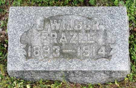 FRAZEE, J. WILBUR - Crawford County, Ohio   J. WILBUR FRAZEE - Ohio Gravestone Photos