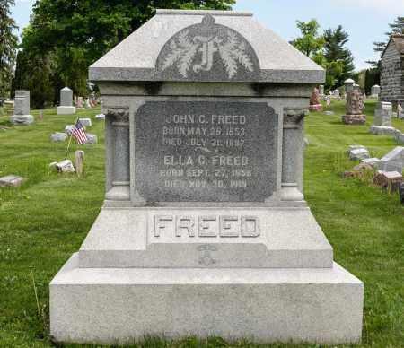 FREED, ELLA - Crawford County, Ohio | ELLA FREED - Ohio Gravestone Photos