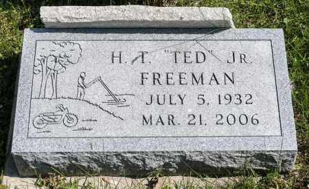 FREEMAN, HENRY THEODORE - Crawford County, Ohio | HENRY THEODORE FREEMAN - Ohio Gravestone Photos