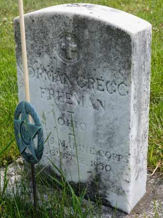 FREEMAN, NORMAN GREGG - Crawford County, Ohio   NORMAN GREGG FREEMAN - Ohio Gravestone Photos