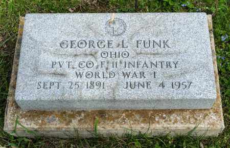 FUNK, GEORGE L. - Crawford County, Ohio   GEORGE L. FUNK - Ohio Gravestone Photos