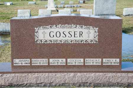 GOSSER, EDITH - Crawford County, Ohio | EDITH GOSSER - Ohio Gravestone Photos