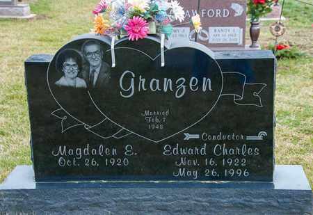 GRANZEN, EDWARD CHARLES - Crawford County, Ohio | EDWARD CHARLES GRANZEN - Ohio Gravestone Photos