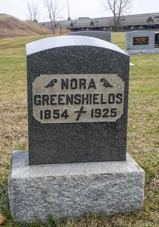 GREENSHIELDS, NORA - Crawford County, Ohio   NORA GREENSHIELDS - Ohio Gravestone Photos