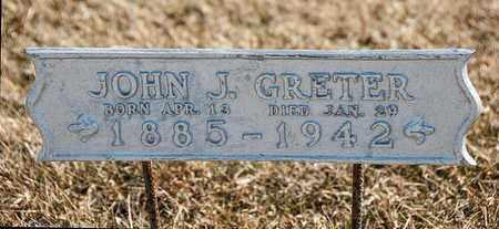 GRETER, JOHN J - Crawford County, Ohio   JOHN J GRETER - Ohio Gravestone Photos