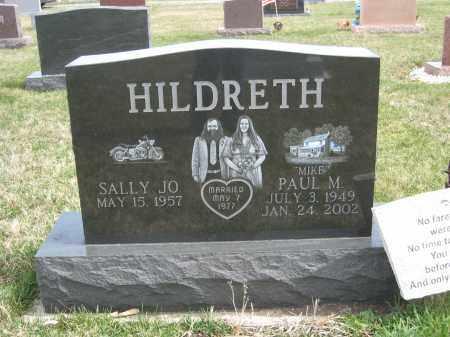 HILDRETH, PAUL M - Crawford County, Ohio   PAUL M HILDRETH - Ohio Gravestone Photos