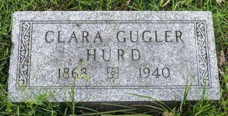GUGLER HURD, CLARA ELIZABETH - Crawford County, Ohio   CLARA ELIZABETH GUGLER HURD - Ohio Gravestone Photos