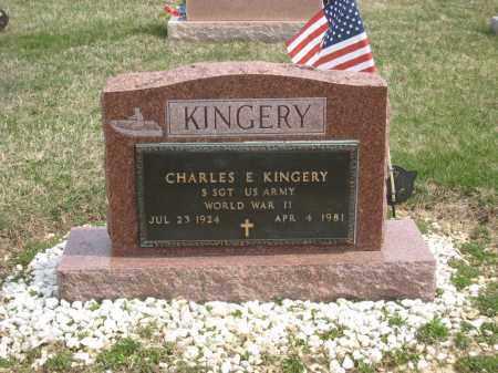 KINGERY, CHARLES E - Crawford County, Ohio | CHARLES E KINGERY - Ohio Gravestone Photos